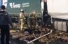 На видео попало спасение водителя , который застрял в смятой кабине большегруза