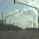 В Смоленской области на трассе установили светофоры