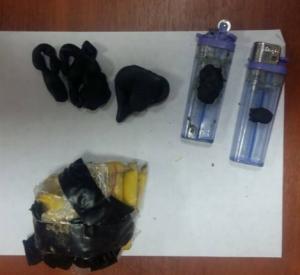На железнодорожном вокзале в Смоленске задержали молодого парня с 20 пакетами наркотиков