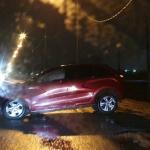 Нетрезвый водитель на Витебском шоссе устроил аварию (фото)