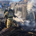 В страшном пожаре под Смоленском погиб пенсионер