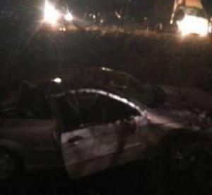 Автомобилистка вылетела с дороги в кювет