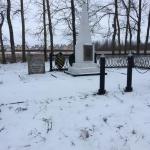 Неизвестные похитили ограждение захоронения жертв Великой Отечественной войны