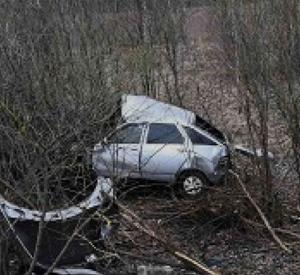 В результате аварии под Смоленском пострадала юная девушка