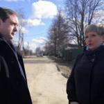 До конца 2020 года будет отремонтирована дорога в деревне Валутино
