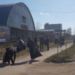В Смоленске на выходных прошли субботники (фото)