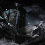 В Починковском районе произошла жёсткая авария