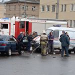 В центре Смоленска произошло жёсткое ДТП