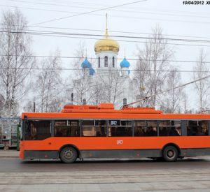В областном центре ограничили движение троллейбусов
