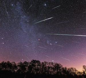 Жители Смоленска могут наблюдать за самым ярким в году звездопадом