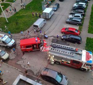 Стали известны подробности пожара на Киевском шоссе