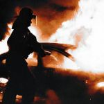 В Смоленской области горели две иномарки