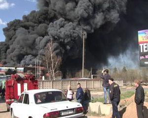При пожаре на Ярцевском заводе пластмасс пострадала одна из сотрудниц