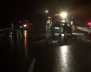 В Вяземском районе пьяный водитель врезался в  припаркованный на обочине микроавтобус