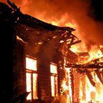 Пенсионер сгорел заживо при пожаре