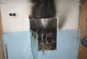 В доме на улице Большая Советская в Смоленске произошло возгорание