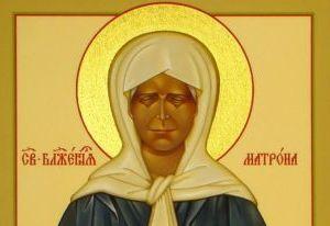Икона святой Матроны Московской прибыла в Сафоново