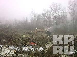 Диспетчер аэродрома «Северный»: Самолет президента Польши заходил на посадку один раз