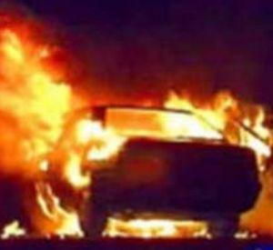 В Смоленске сгорела еще одна машина