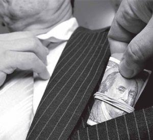 Коррупция мешает обществу развиваться