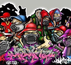 Оперативники и следователи ищут в Смоленске граффитчиков-экстремистов