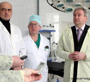 Губернатор Сергей Антуфьев: акцент на борьбе с туберкулёзом
