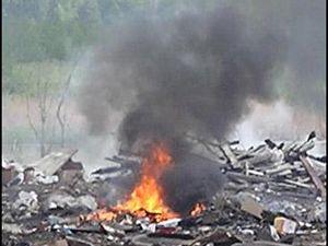 В Смоленске опять горит мусор