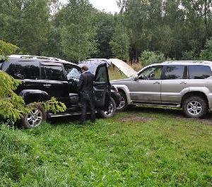 В Смоленской области задержаны угонщики элитных автомобилей