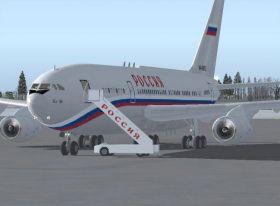 Владимир Путин приземлился в Смоленске