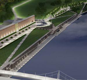 В реконструкцию набережной Днепра в Смоленске вмешалась прокуратура
