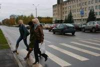 В Смоленске убирают лишние пешеходные переходы