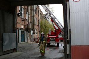 В Смоленске горел завод холодильников
