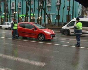 Авария в центре Смоленска