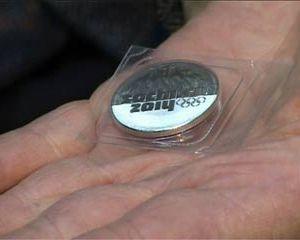 В Смоленске появились олимпийские монеты номиналом в 25 рублей