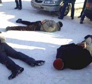 На Колхозной площади задержали банду грабителей