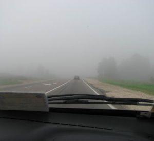 На смоленских дорогах велика вероятность ДТП