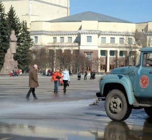 Главная площадь Смоленска «оденется» в брусчатку