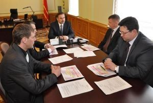 В Администрации области обсудили вопросы организации теплоснабжения в Смоленске