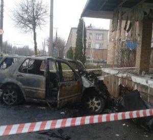 В аварии на ул.Шевченко заживо сгорел пассажир