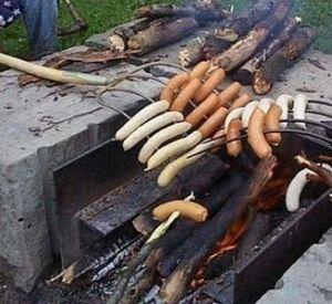 На праздники в парке 1100-летия Смоленска в урнах жарили шашлыки