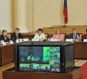 Круглый стол врачей Смоленщины с участием Леонида Рошаля