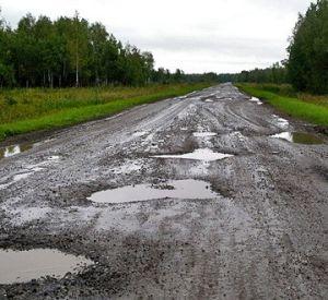 Губернатор обеспокоен состоянием дорог Смоленщины