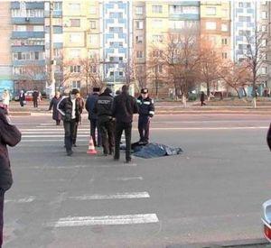 ДТП на перекрестке улиц Багратиона и Краснофлотской, «Mersedes-Benz» сбил человека на пешеходном переходе