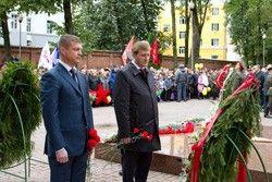 Смоляне отметили 69-ю годовщину освобождения от немецко-фашистских захватчикови День города