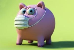 В Смоленской области зарегистрирован свиной грипп