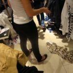 Смоленские школьницы обокрали магазин с одеждой