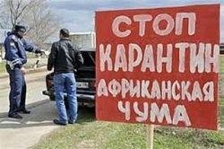 В трёх районах Смоленской области установили карантинные посты