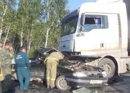 В ДТП в Краснинском районе погиб водитель «Лады приоры»