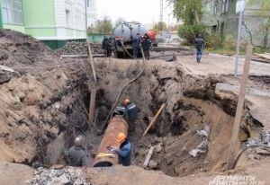 Десятки домов в Смоленске останутся без воды из-за врезки водовода