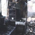 Участковый вынес из горящего дома престарелую женщину